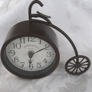 Vintage Chaney limited Edition bike clock